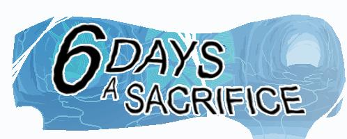 6 Days a Sacrifice Windows Front Cover