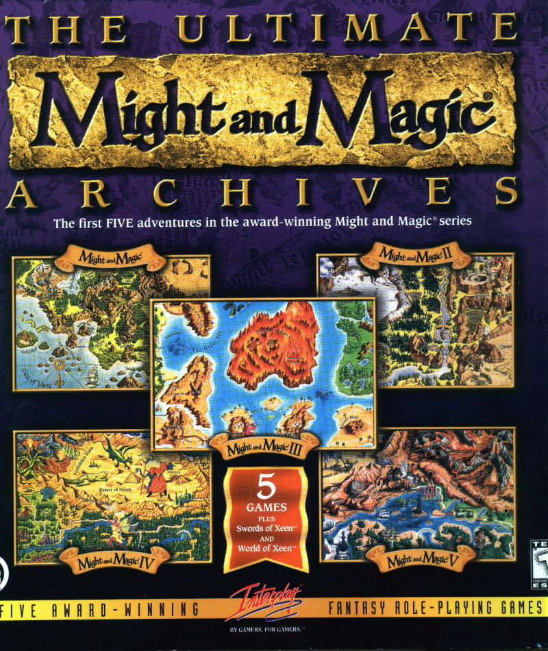 Ultimate Might and Magic Archives Windows Front Cover
