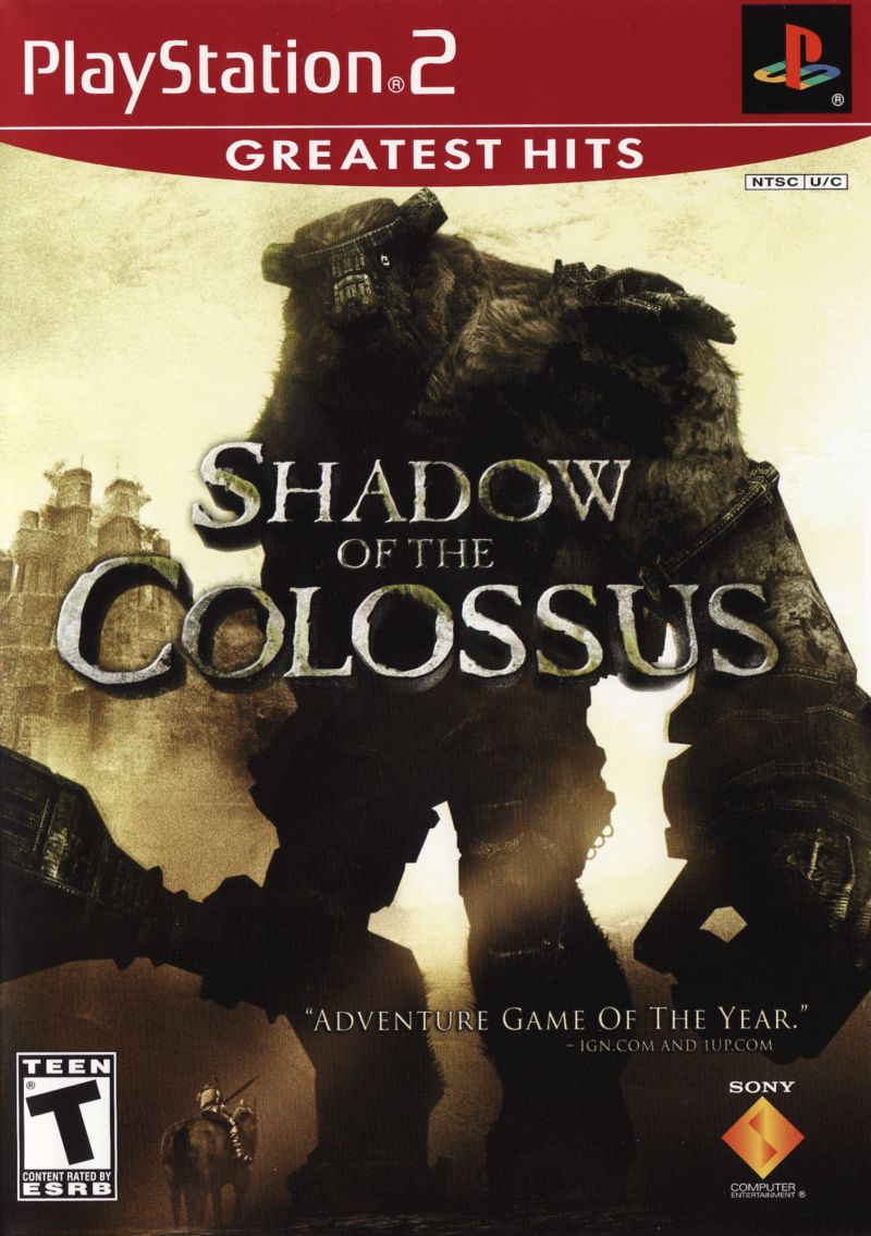 Shadow of the Colossus PlayStation 2 Front Cover