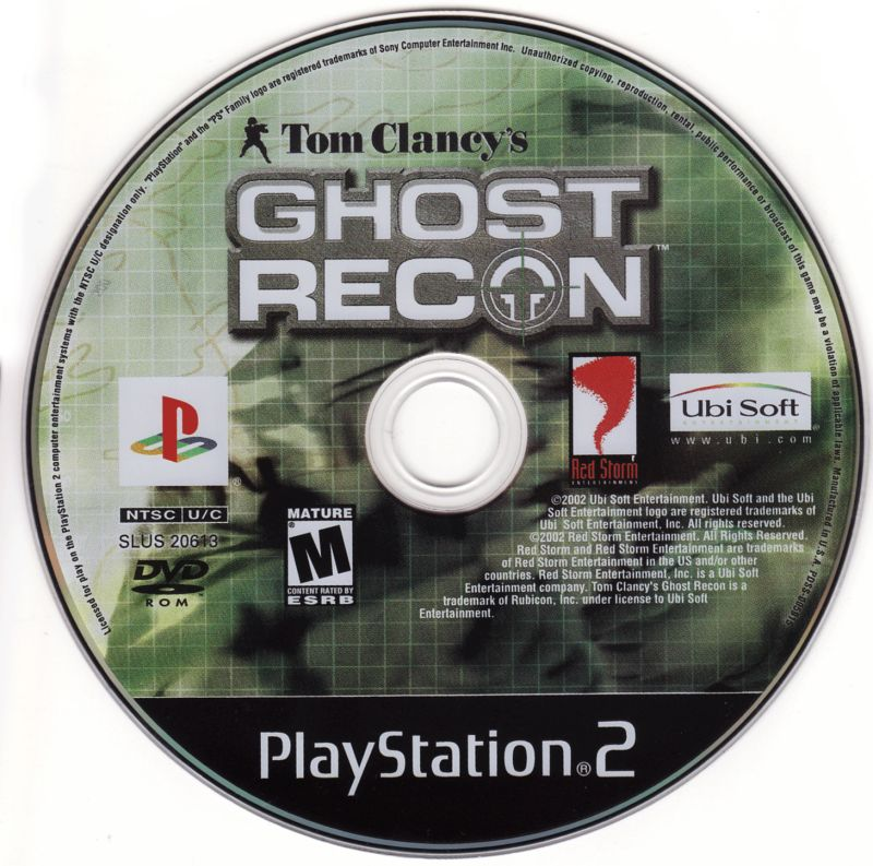 Tom Clancy's Ghost Recon PlayStation 2 Media