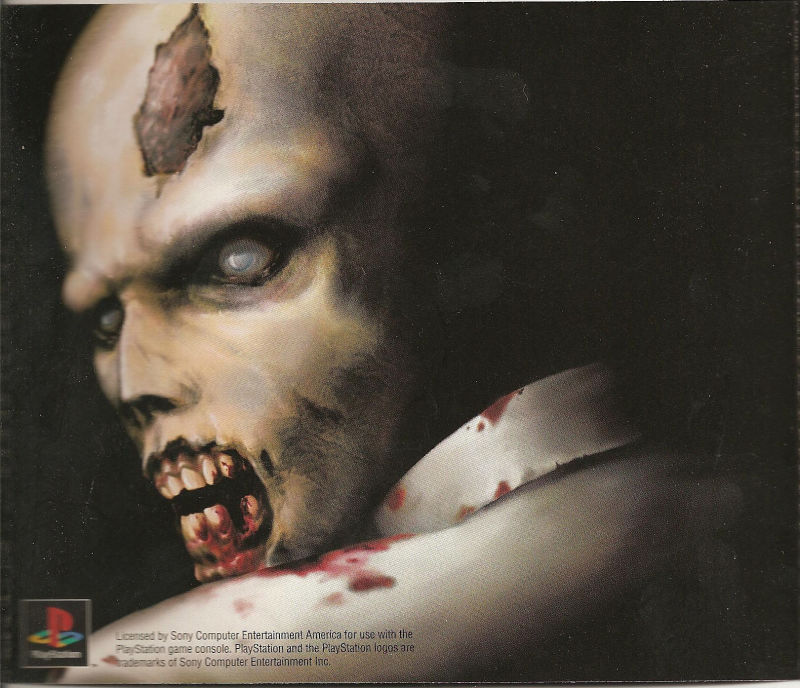 Resident Evil: Director's Cut PlayStation Inside Cover Left