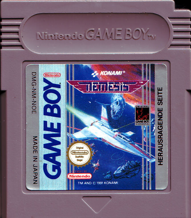 Nemesis Game Boy Media