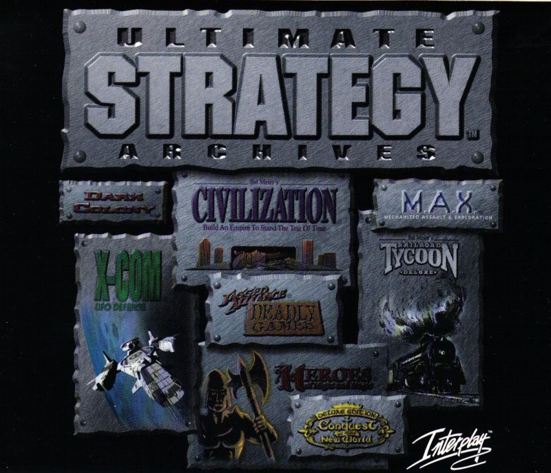 Ultimate Strategy Archives Windows Front Cover