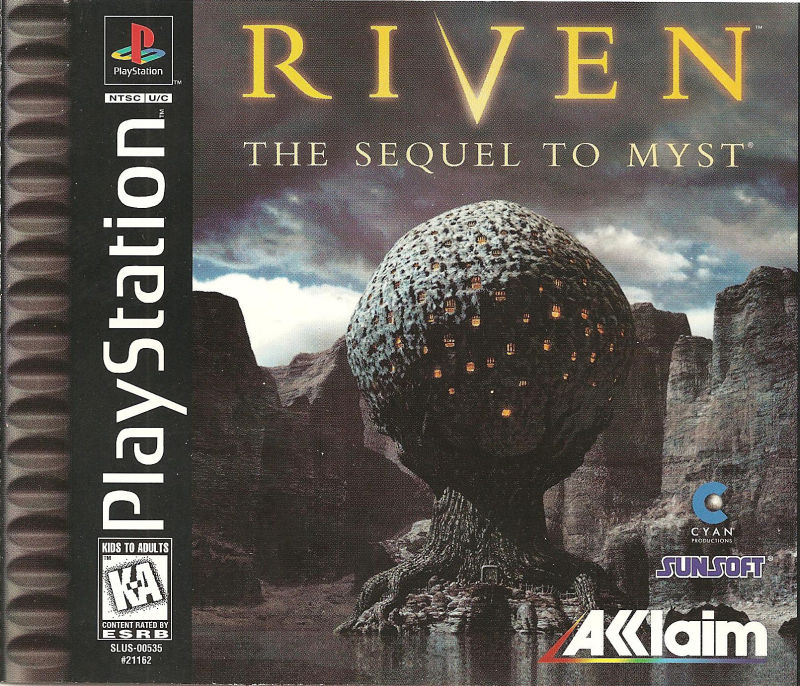 Riven: The Sequel To MYST Crack