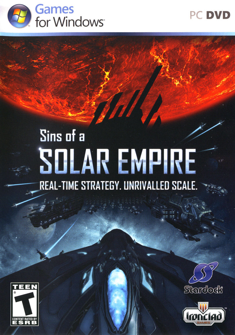 Sins of a Solar Empire Windows Other Keep Case - Front