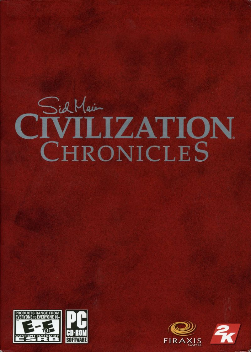 Sid Meier's Civilization Chronicles Windows Front Cover
