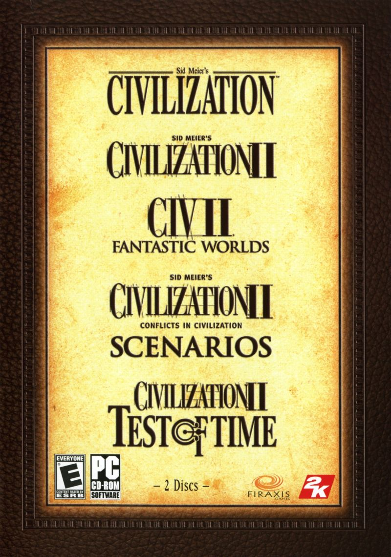 Sid Meier's Civilization Chronicles Windows Other Civilization I & II Keep Case - Front