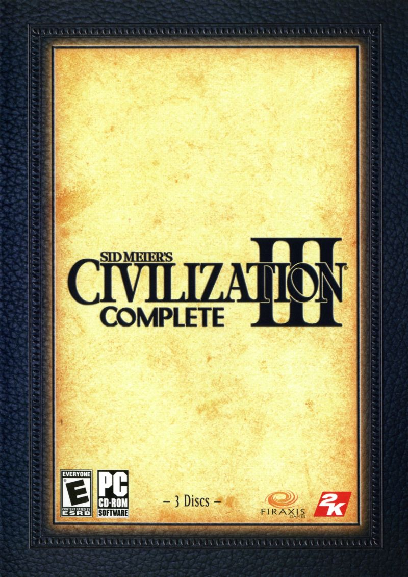 Sid Meier's Civilization Chronicles Windows Other Civilization III Keep Case - Front