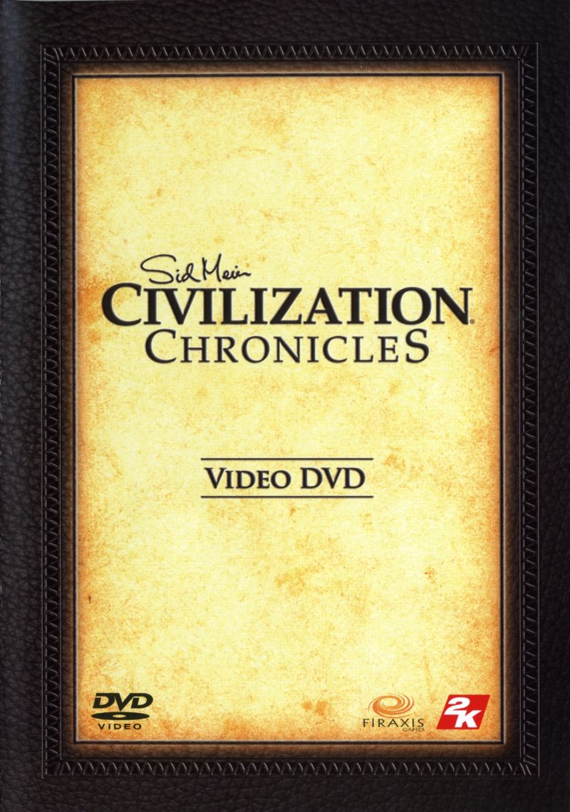 Sid Meier's Civilization Chronicles Windows Other Video DVD Keep Case - Front