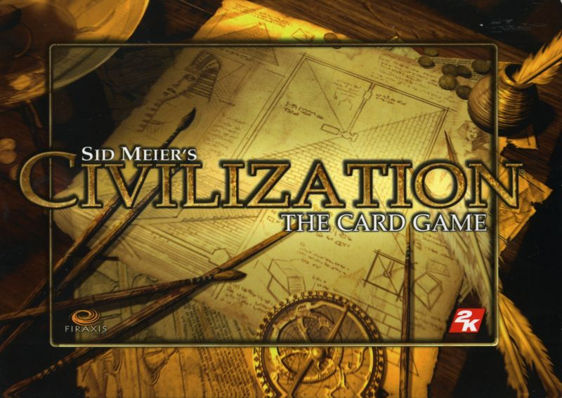 Sid Meier's Civilization Chronicles Windows Other Card Game Slip Cover - Front