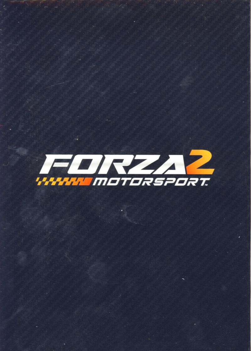 Forza Motorsport 2 (Limited Collector's Edition) Xbox 360 Other Front & back of box