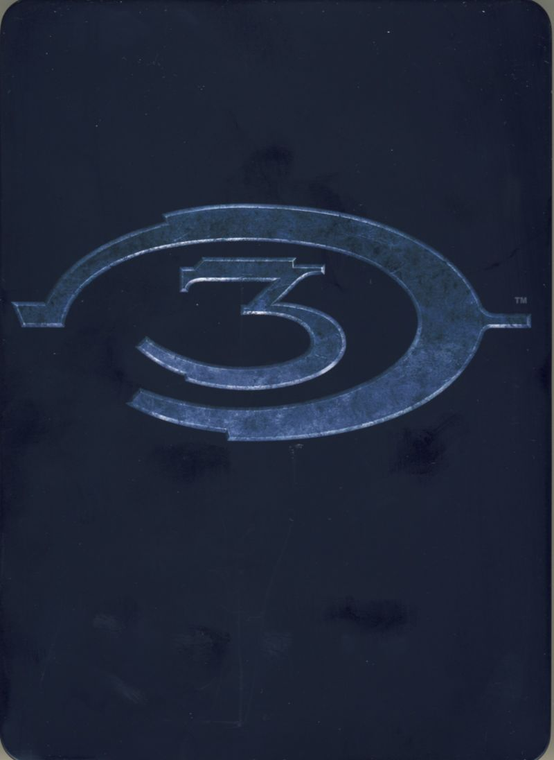 Halo 3 (Limited Edition) Xbox 360 Other Metal Box - Front/Back