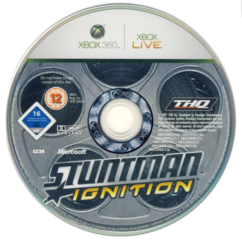 Stuntman: Ignition Xbox 360 Media