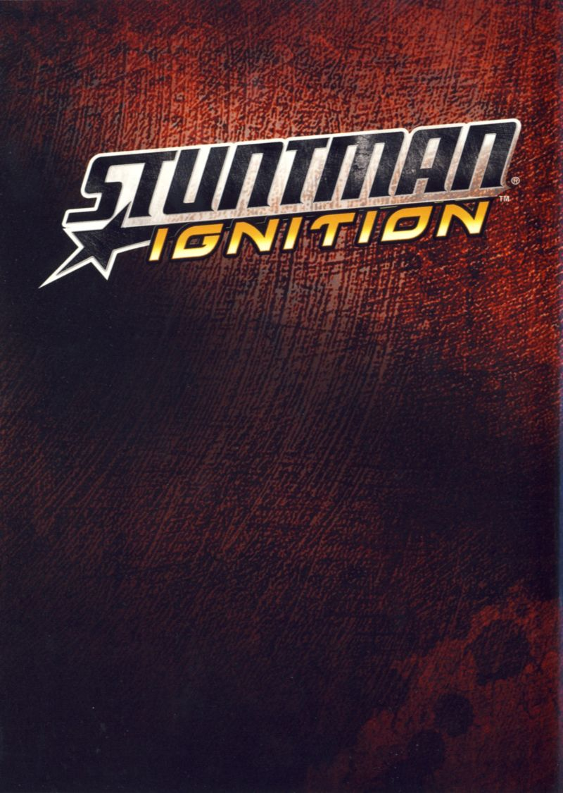 Stuntman: Ignition Xbox 360 Inside Cover Left