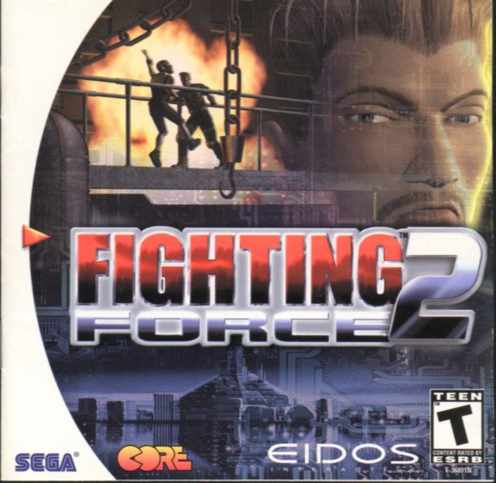 Fighting Force 2 Dreamcast Front Cover