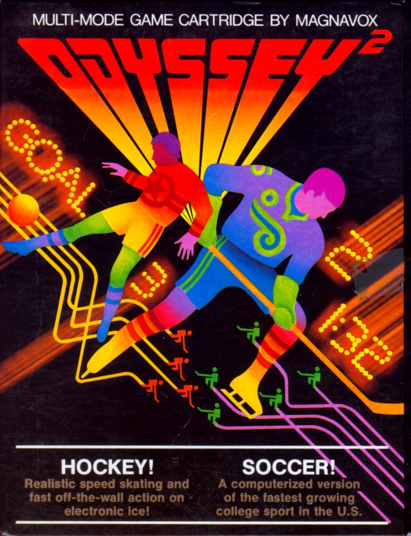 Hockey! / Soccer! Odyssey 2 Front Cover
