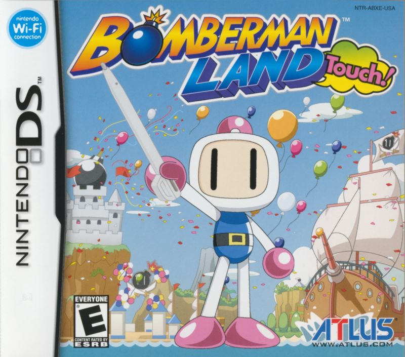 Bomberman Land Touch! Nintendo DS Front Cover