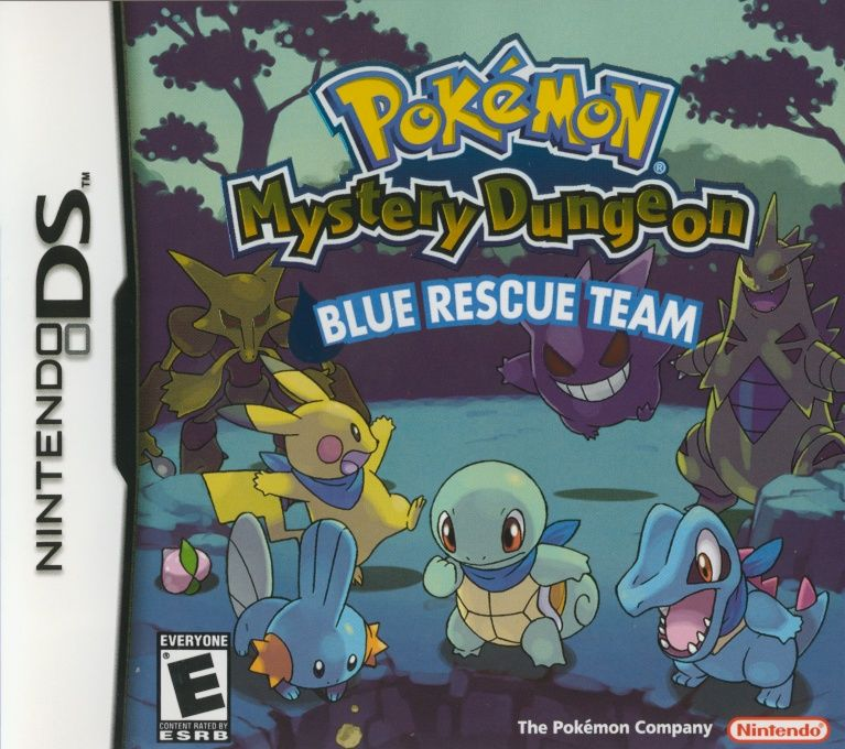 Image result for pokemon mystery dungeon blue rescue team cover