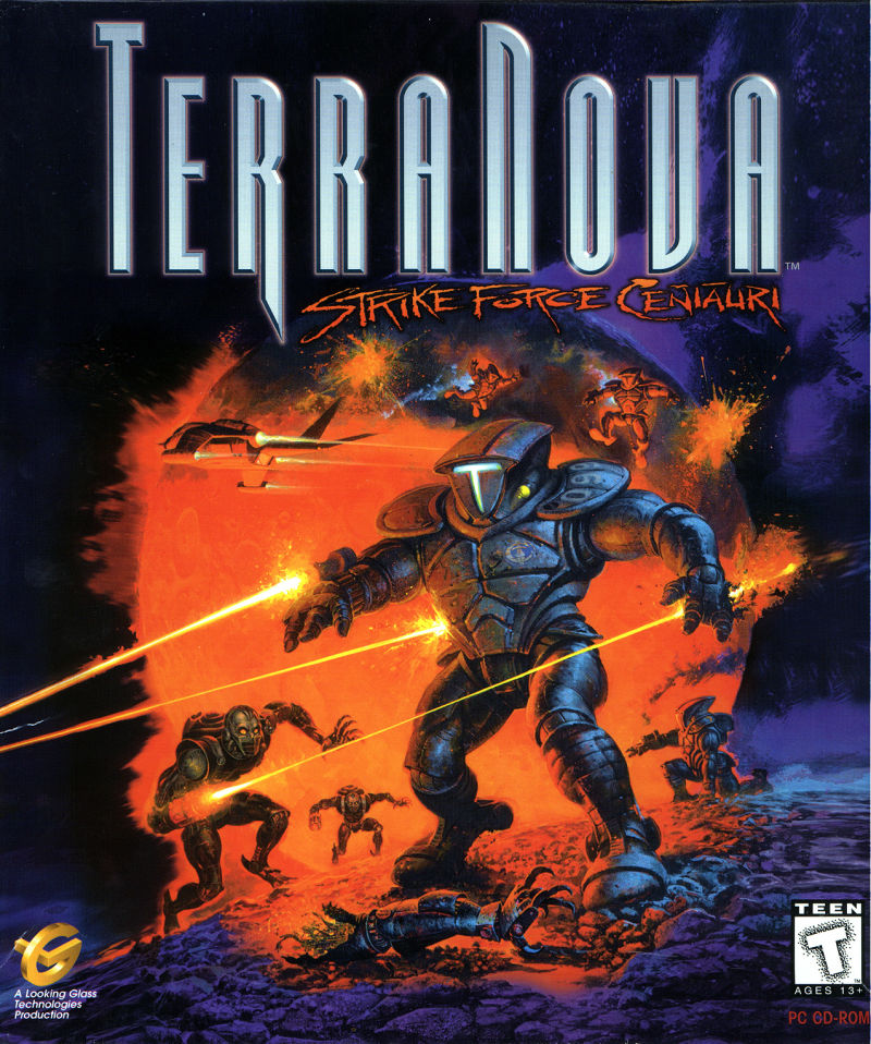 Terra Nova: Strike Force Centauri DOS Front Cover