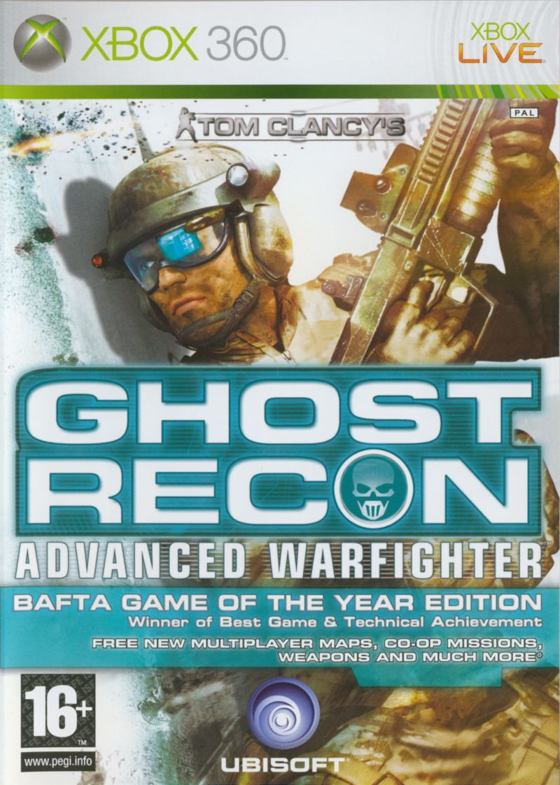 Tom Clancy's Ghost Recon: Advanced Warfighter (Premium Edition) Xbox 360 Front Cover