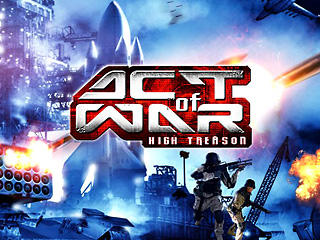 Act of War: High Treason Windows Front Cover