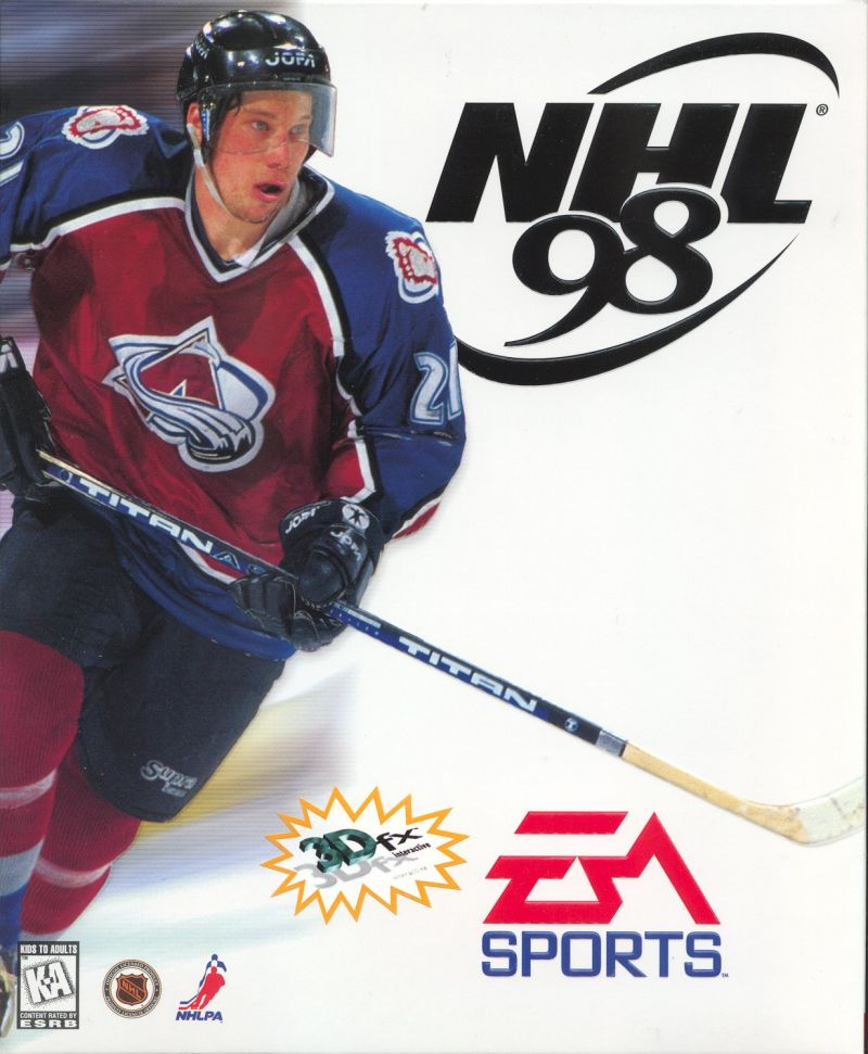 NHL 98 Windows Front Cover