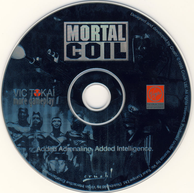 Mortal Coil: Adrenalin Intelligence DOS Media