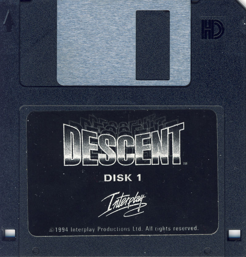Descent DOS Media Disk 1/5