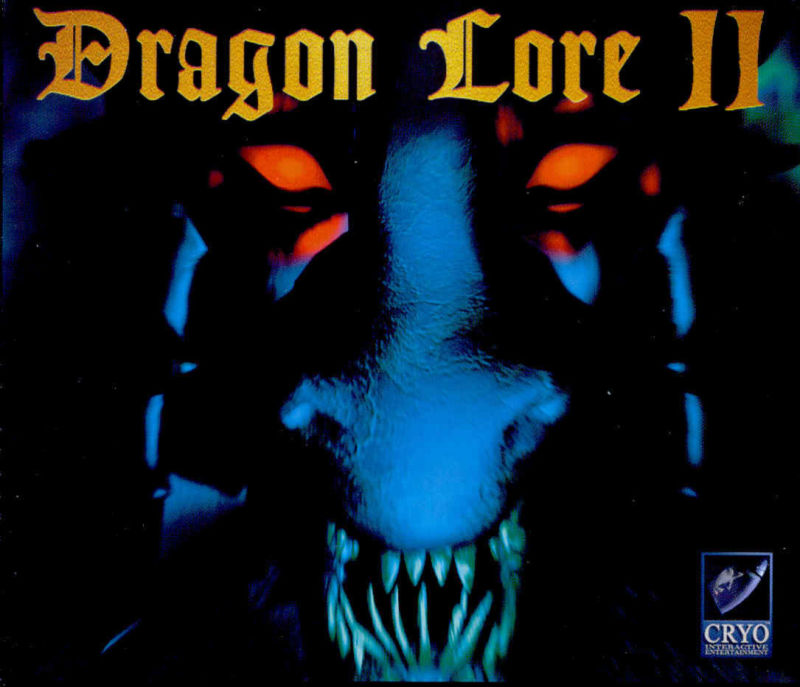 Dragon Lore II: The Heart of the Dragon Man DOS Other Jewel Case - Front