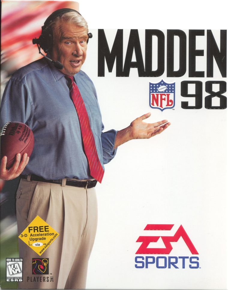 Madden NFL 98 Windows Front Cover