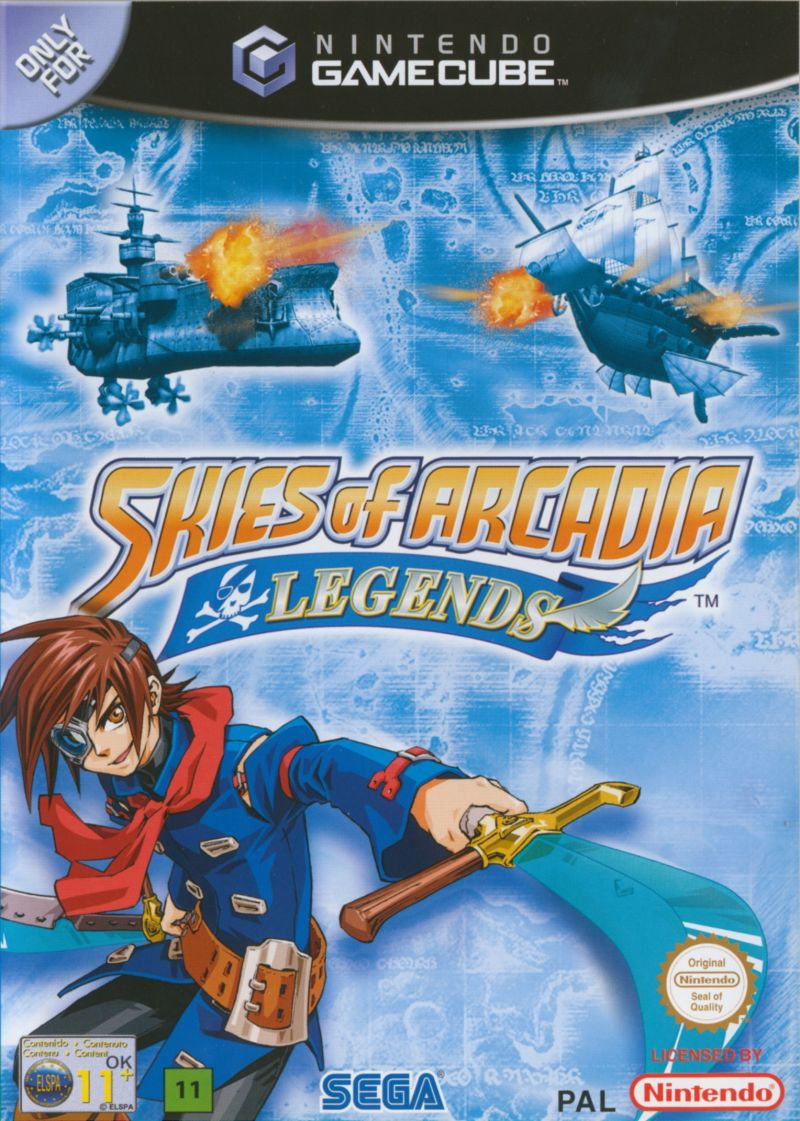 Image result for skies of arcadia gamecube box