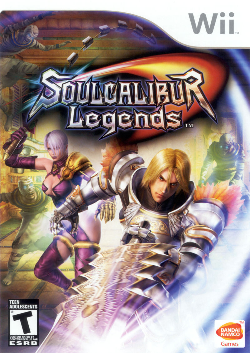 Soulcalibur Legends Wii Front Cover