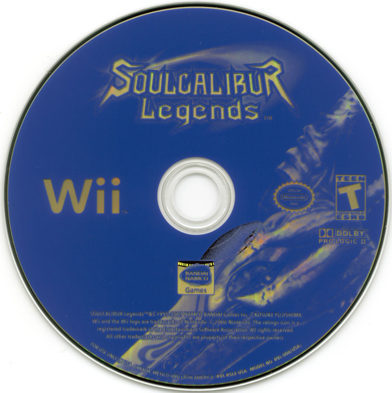 Soulcalibur Legends Wii Media