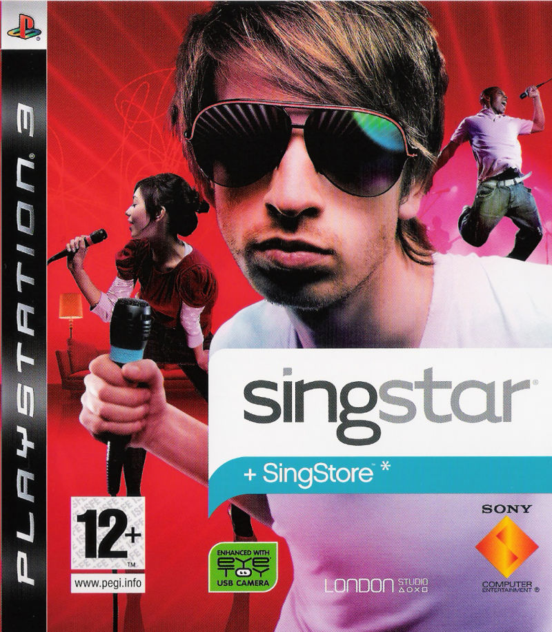 SingStar PlayStation 3 Front Cover