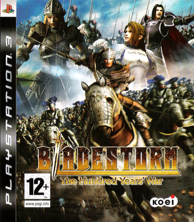 Bladestorm: The Hundred Years' War PlayStation 3 Front Cover