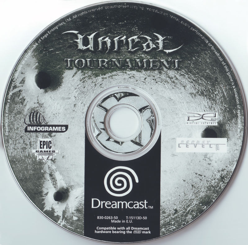 Unreal Tournament Dreamcast Media