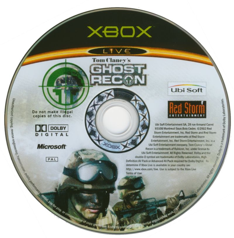 Tom Clancy's Ghost Recon Xbox Media