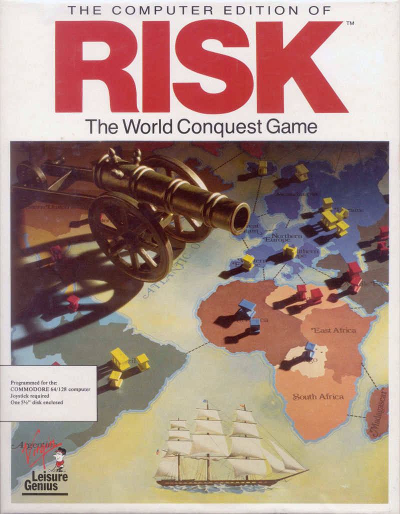 обложка 90x90 The Computer Edition of Risk: The World Conquest Game