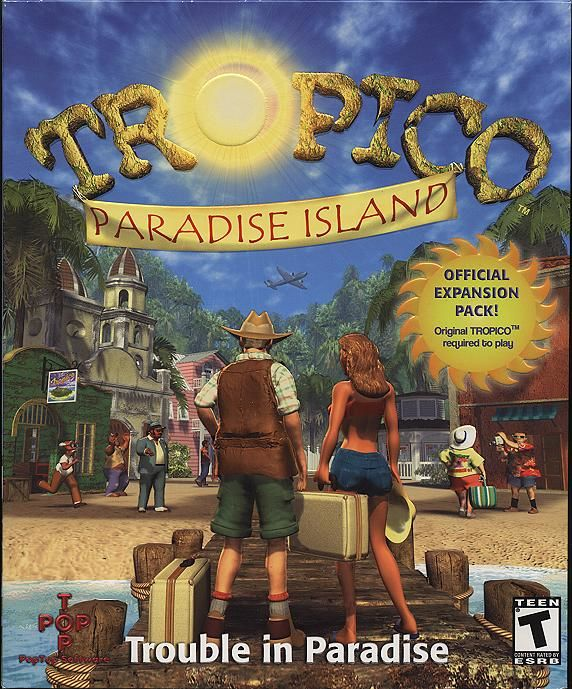 Tropico: Paradise Island Windows Front Cover