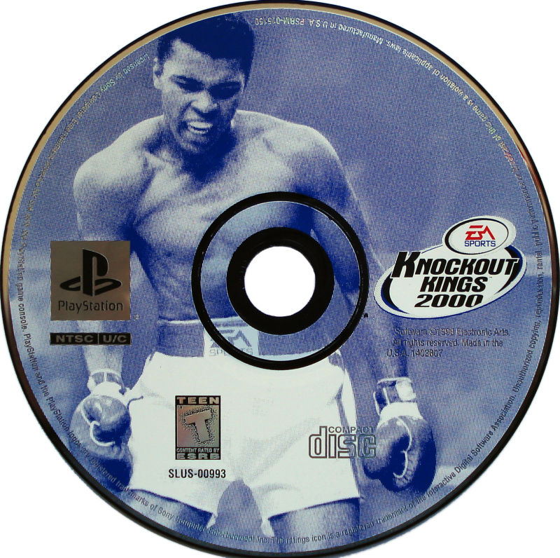 Knockout Kings 2000 PlayStation Media