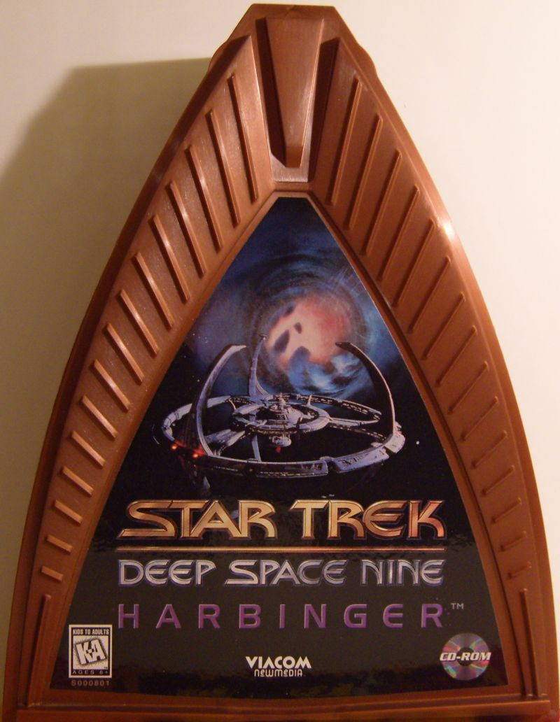 Star Trek: Deep Space Nine - Harbinger DOS Front Cover