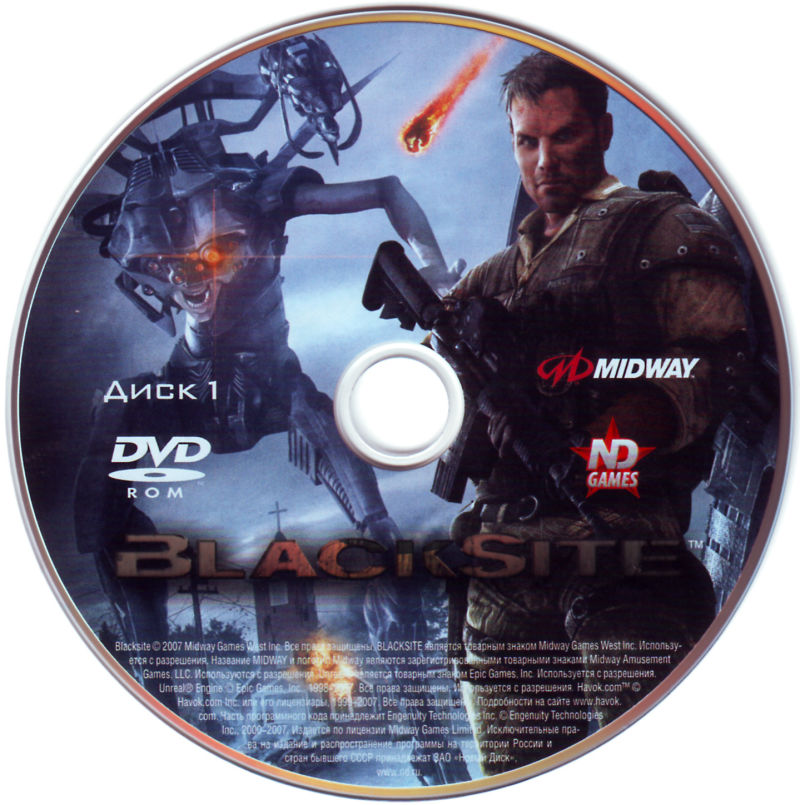 BlackSite: Area 51 Windows Media Disc 1/2