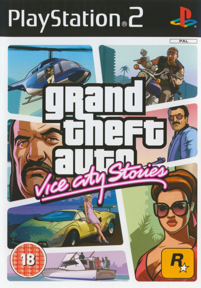 Grand Theft Auto: Vice City Stories PlayStation 2 Front Cover