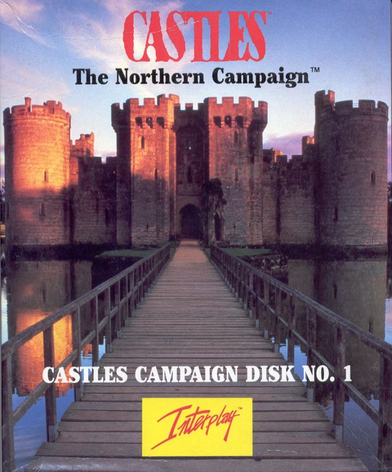 Castles: The Northern Campaign DOS Front Cover