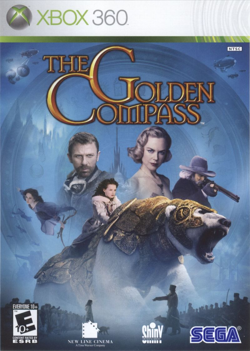 The Golden Compass Xbox 360 Front Cover