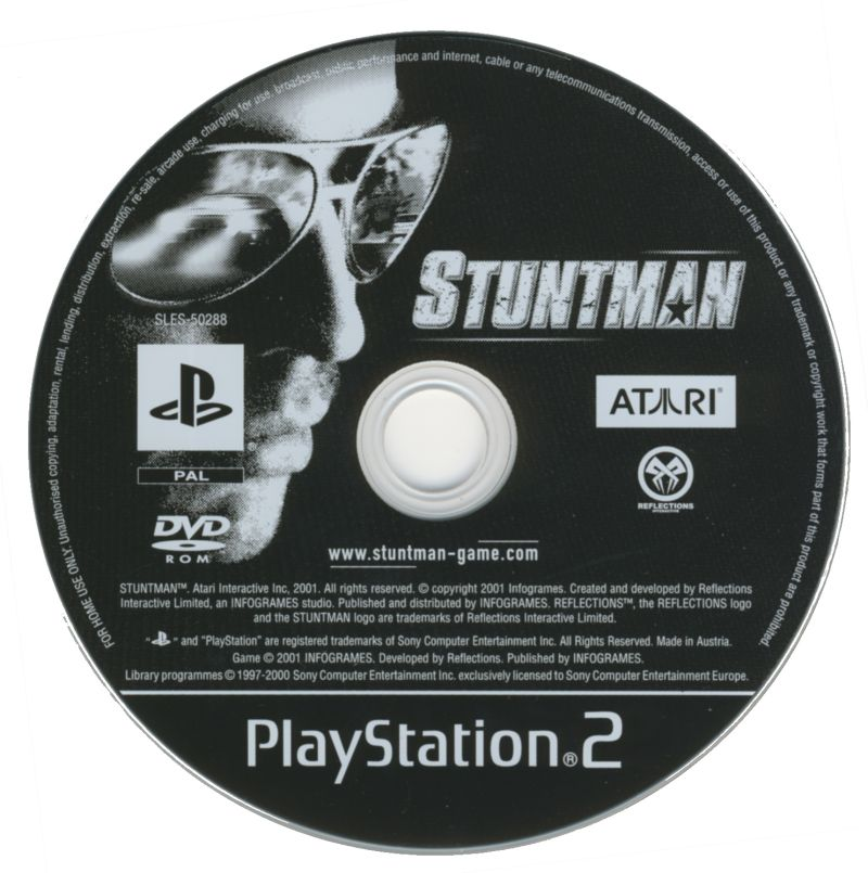 Stuntman PlayStation 2 Media