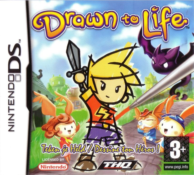 Drawn to Life Nintendo DS Front Cover