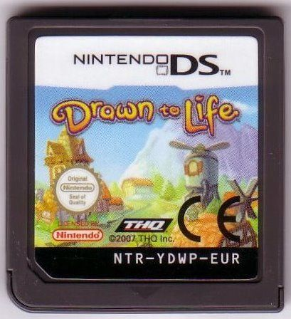 Drawn to Life Nintendo DS Media