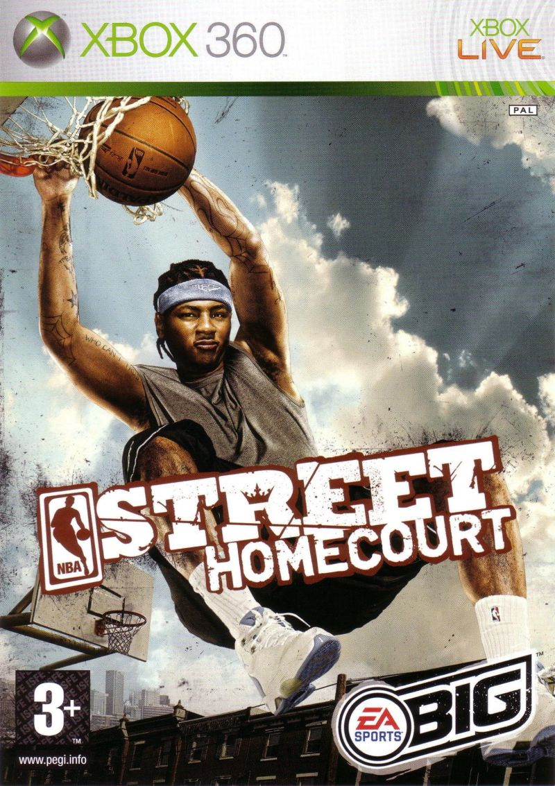 NBA Street Homecourt Xbox 360 Front Cover