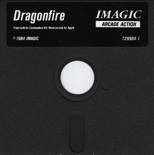 Dragonfire Commodore 64 Media